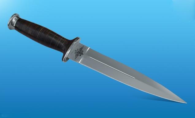 Нож для закола свиней 162